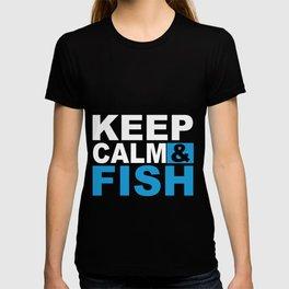 Keep Calm & Fish T-shirt