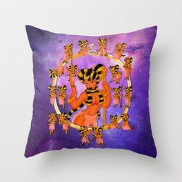 Queen 2 Chibi Set Throw Pillow