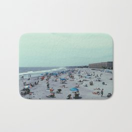 Folly Beach, With People  Bath Mat