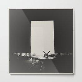 hangar Metal Print