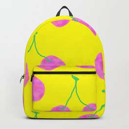 Words from Cherry - fruit love illustration wedding gift Backpack