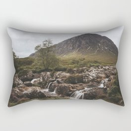 Famous Etive Mor - Landscape and Nature Photography Rectangular Pillow