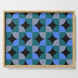 NeonBlu Squares Serving Tray