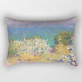 John Peter Russell - In the morning, Alpes Maritimes from Antibes Rectangular Pillow