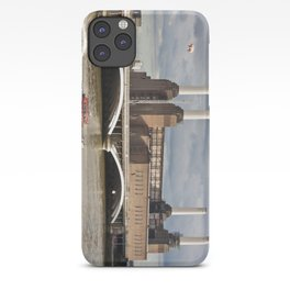 Battersea Power Station with Pink Floyd Pig iPhone Case