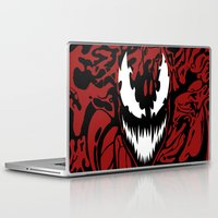carnage Laptop & iPad Skins featuring carnage by Rebecca McGoran