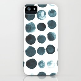 Faded dots iPhone Case