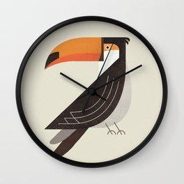 Whimsy Toucan Wall Clock