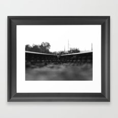 Interrail Framed Art Print