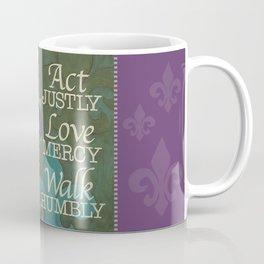 Walk Humbly Coffee Mug