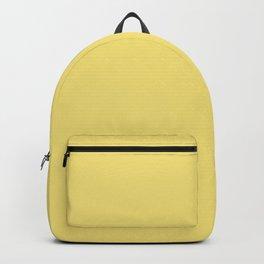 LEMON VERBENA Pastel solid color  Backpack
