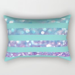 Tango Frost Stripes Rectangular Pillow