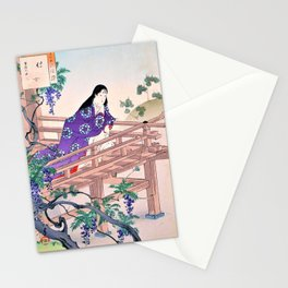Mizuno Toshikata - Top Quality Art - Handmaid Stationery Cards