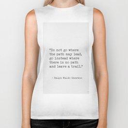 Ralph Waldo Emerson, awesome quote 3. Biker Tank