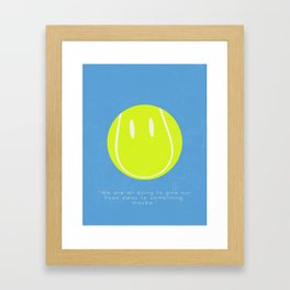Infinite Jest — David Foster Wallace Framed Art Print