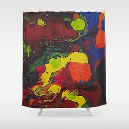 Abstract Colibrii. Shower Curtain