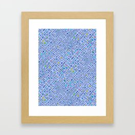 Electronic circuit Framed Art Print