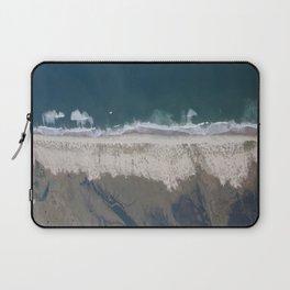 Aerial Beach Photograph: Masonboro Island | Wrightsville Beach NC Laptop Sleeve