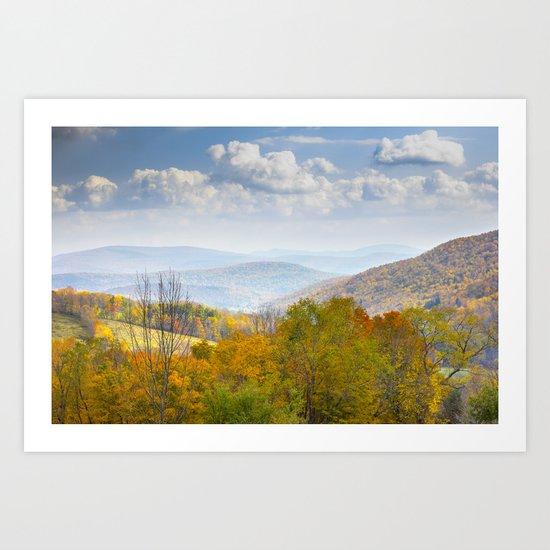 Catskill Mountains Art Print