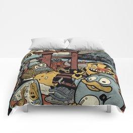 Japan Trips Comforters