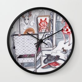 Never a Dull Moment Wall Clock
