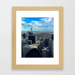 New York City View Framed Art Print