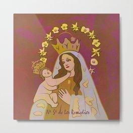 Virgen de Los Remedios Metal Print