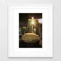 volkswagon Framed Art Prints featuring Beetlebum by Jeremy Hammett