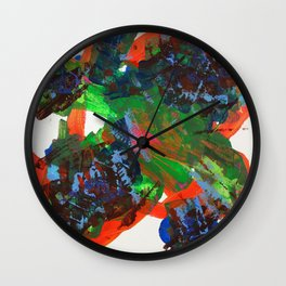 Big Daddy and Little Sister Wall Clock