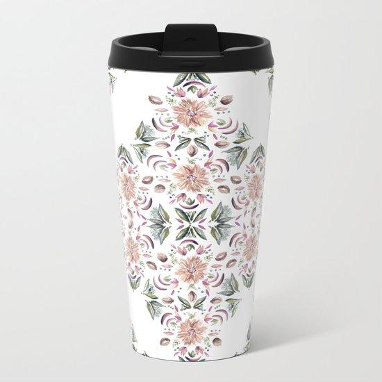 Tribe Floral Vibes Metal Travel Mug