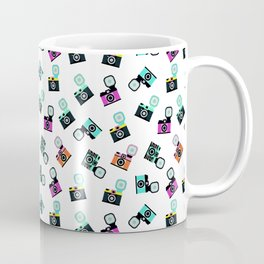 Photography Cameras Pattern Coffee Mug