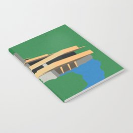 Falling Water Notebook