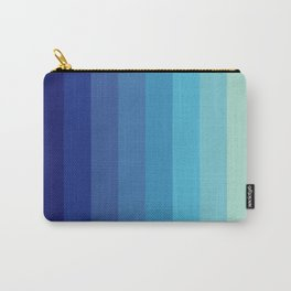 Blue Timeless Stripes Tizheruk Carry-All Pouch