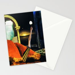 the dreamtime - collage Stationery Cards