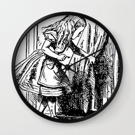 Curiouser & Curiouser Wall Clock