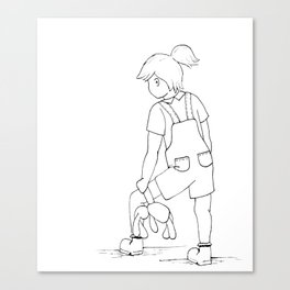 Tilly & Scout Canvas Print