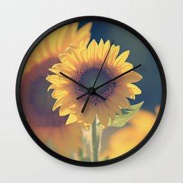 Sunflower 02 Wall Clock