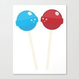 Living Lollipops Canvas Print