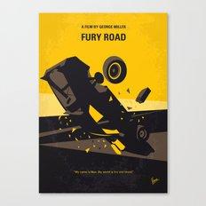 No051 My Mad Max 4 Fury Road minimal movie poster Canvas Print