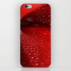 Dew on Petal fine art photography iPhone & iPod Skin