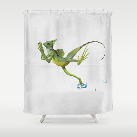 Keep the Faith (wordless) Shower Curtain