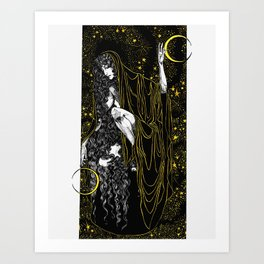 Moon Mother Art Print