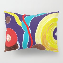 SPACE EXCURSION                by   Kay Lipton Pillow Sham
