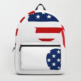 USA American Flag Of Shamrock St. Patrick's Day Irish Backpack