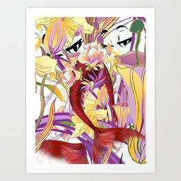 Cabsink16DesignerPatternMMP Art Print