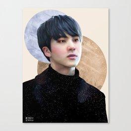 Seokjin : Flushed Canvas Print