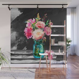 Color in the Dark Wall Mural