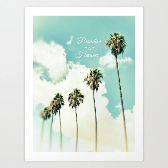 Paradise and Heaven II Art Print