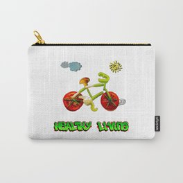 Veggie Bicycle Carry-All Pouch