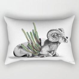 Bighorn Ram Rectangular Pillow
